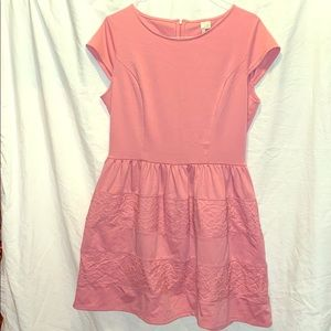 Pink doll style dress